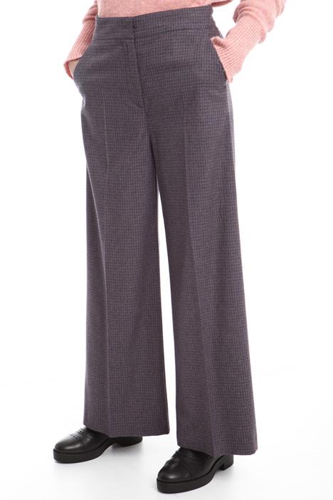 Pantaloni tinto filo a palazzo Diffusione Tessile