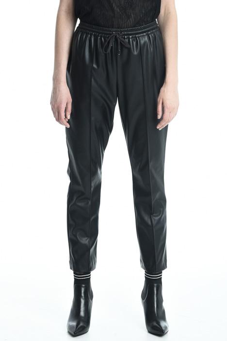 Pantaloni spalmati con tasche Diffusione Tessile