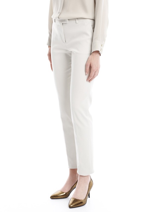 Cotton stretch trousers Diffusione Tessile