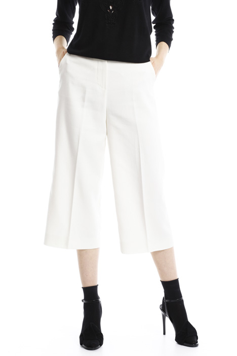 Pantaloni in doppio crepe Intrend