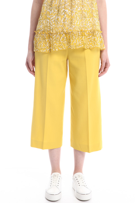 Double crepe trousers Intrend