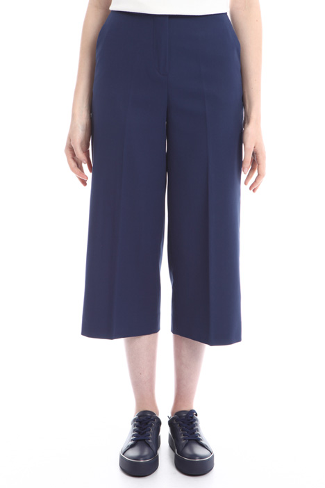 Pantaloni in doppio crepe Diffusione Tessile