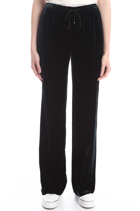 Pantaloni in velluto con tasca Diffusione Tessile