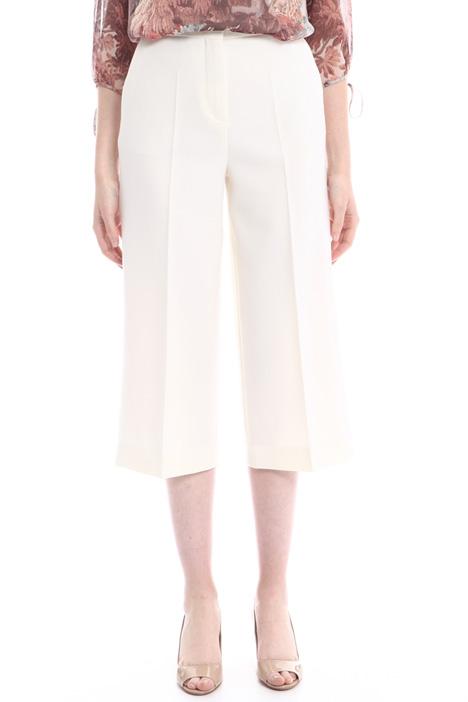 Pantaloni cropped linea ampia Intrend