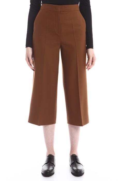 Pantaloni cropped linea ampia Diffusione Tessile