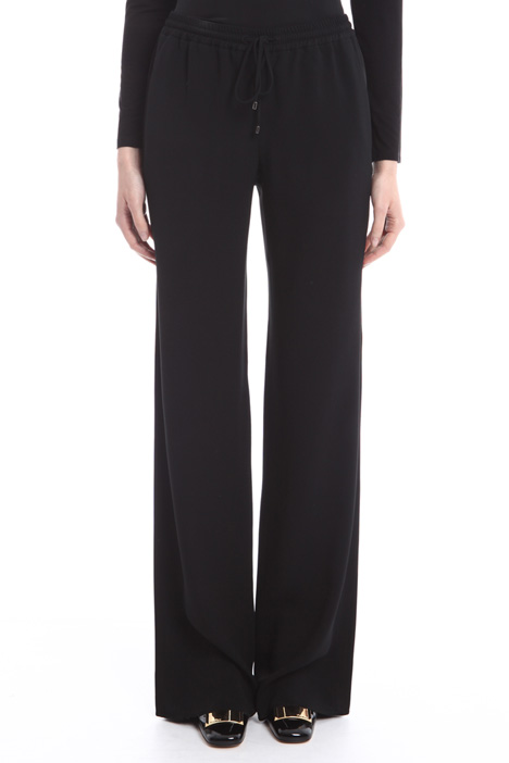 Envers satin trousers Diffusione Tessile