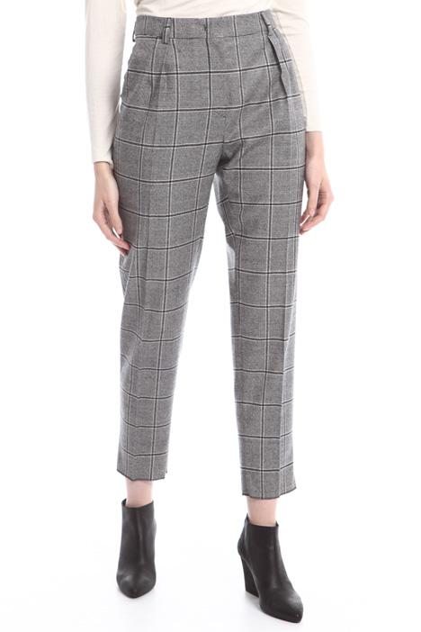 Pantaloni in flanella di lana Diffusione Tessile
