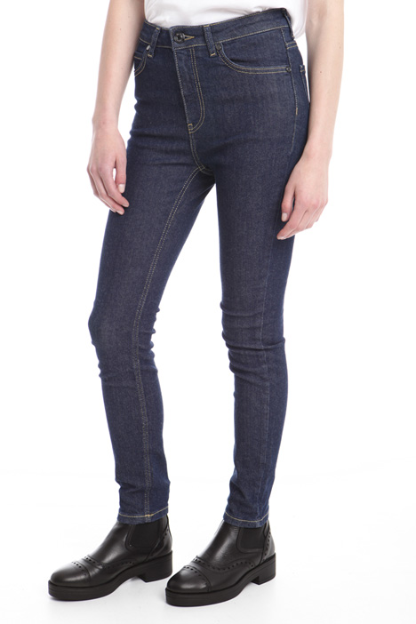 Skinny trousers in denim Diffusione Tessile