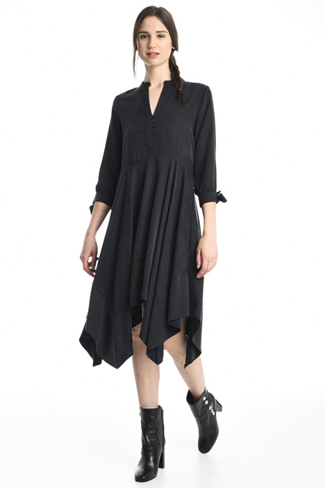 Fluid gabardine dress Intrend