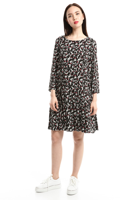 Printed sablé dress Diffusione Tessile