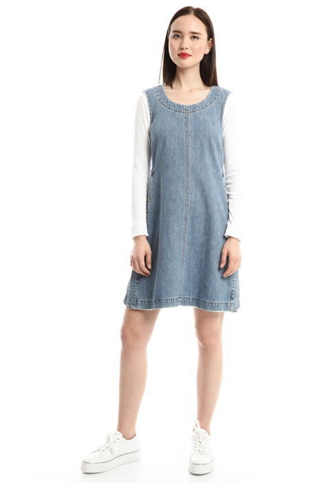 Cotton denim dress Diffusione Tessile