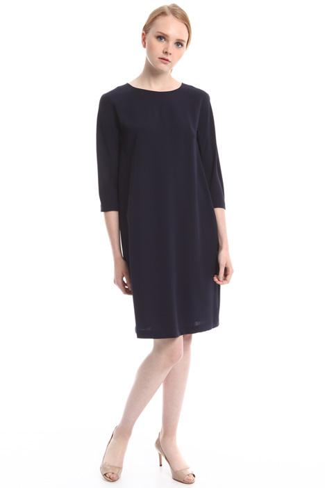Wool crepe dress Diffusione Tessile