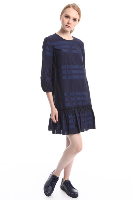 Poplin dress with stripes Diffusione Tessile