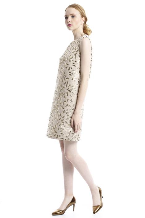 Jacquard A-line dress Diffusione Tessile