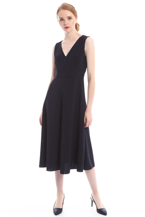 Sleeveless midi dress Intrend