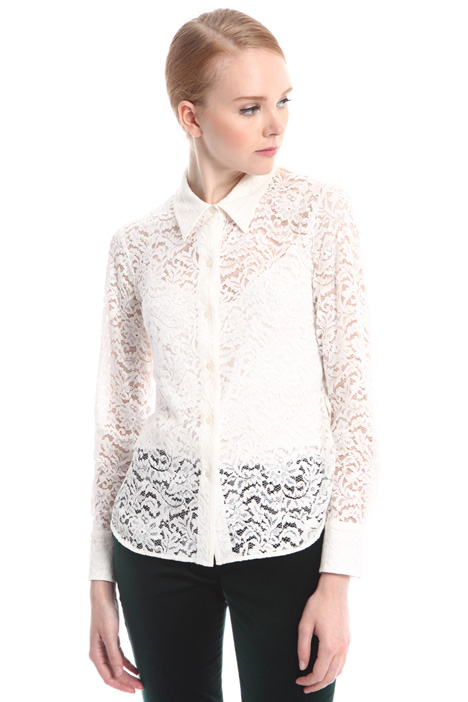 Lace shirt with top Intrend