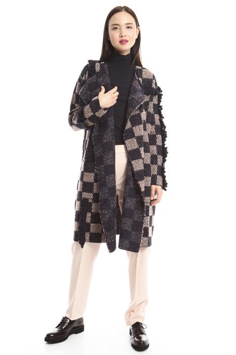 Capospalla in lana bouclé Diffusione Tessile