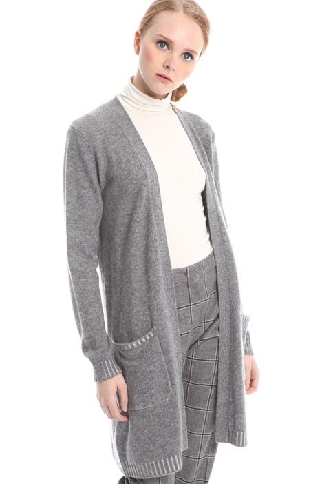 Cardigan in lana e cashmere Diffusione Tessile