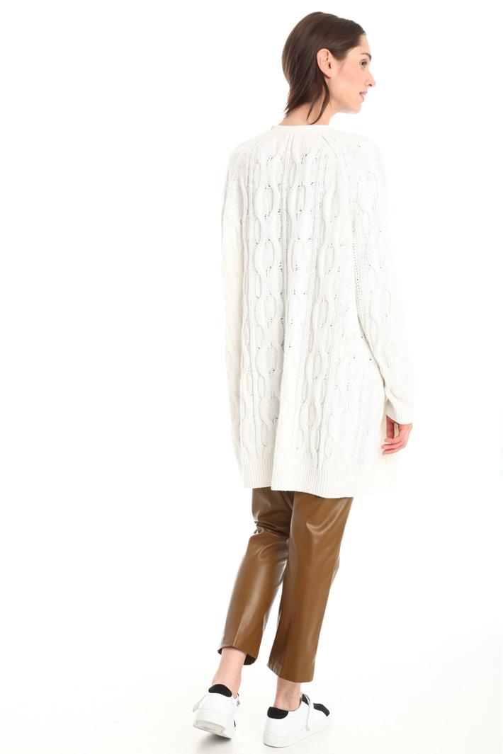 Cardigan in misto lana Diffusione Tessile