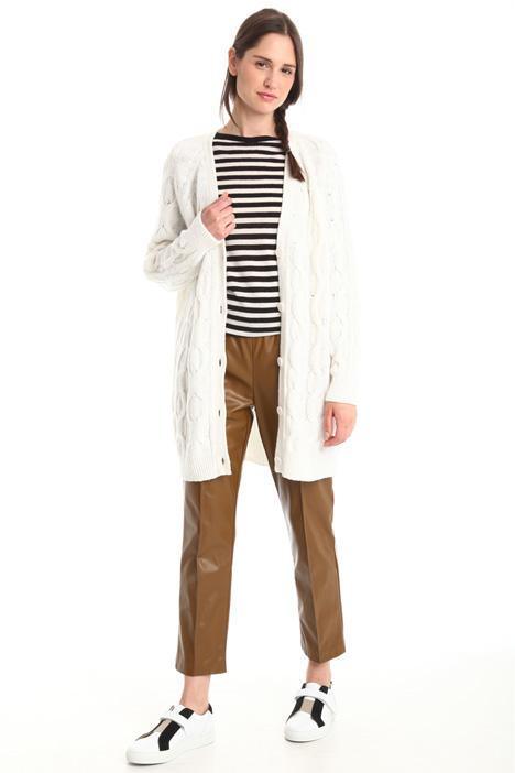 Wool blend cardigan Diffusione Tessile