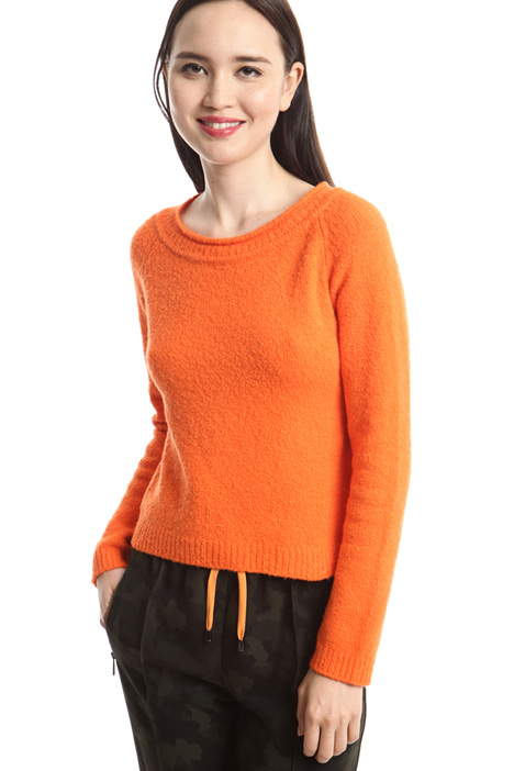 Boxy fit cotton sweater Intrend