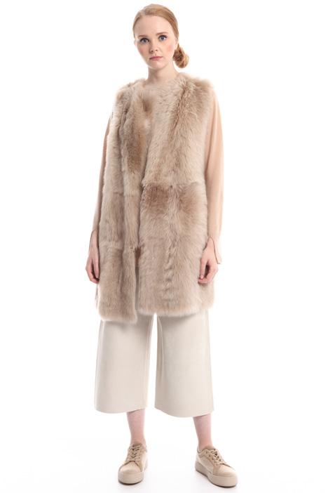 Reversible fur vest Diffusione Tessile