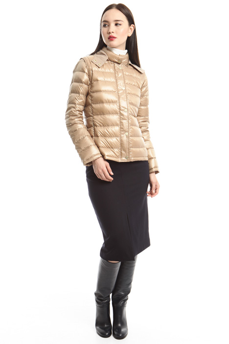 Hooded down jacket Diffusione Tessile