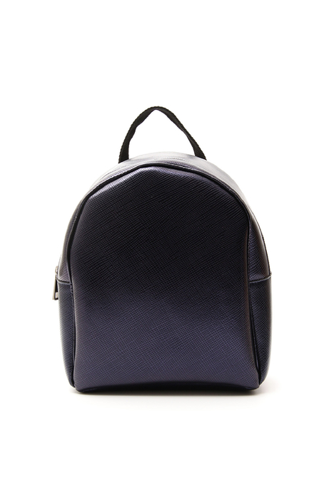 Saffiano-effect backpack  Intrend