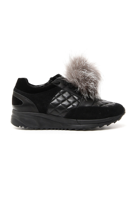 Sneakers in quilted leather Diffusione Tessile