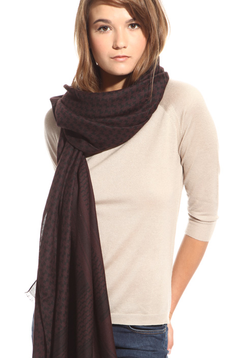 Soft canvas scarf Intrend
