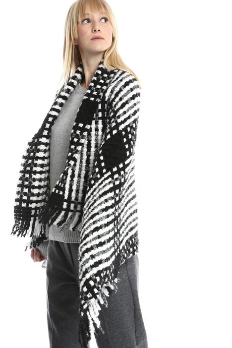 Maxi sciarpa in misto lana Diffusione Tessile
