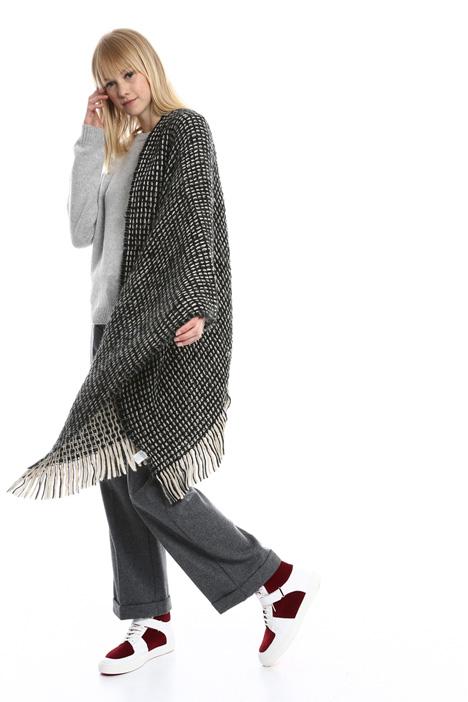 Sciarpa in lana intrecciata Diffusione Tessile