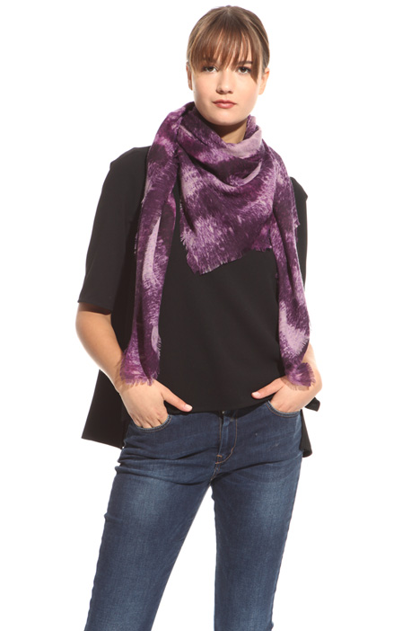 Lightweight canvas scarf Diffusione Tessile