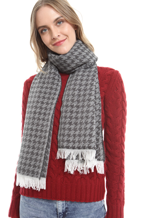 Houndstooth scarf Intrend