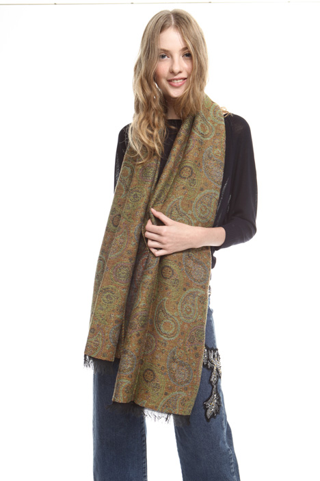Paisley print scarf Intrend