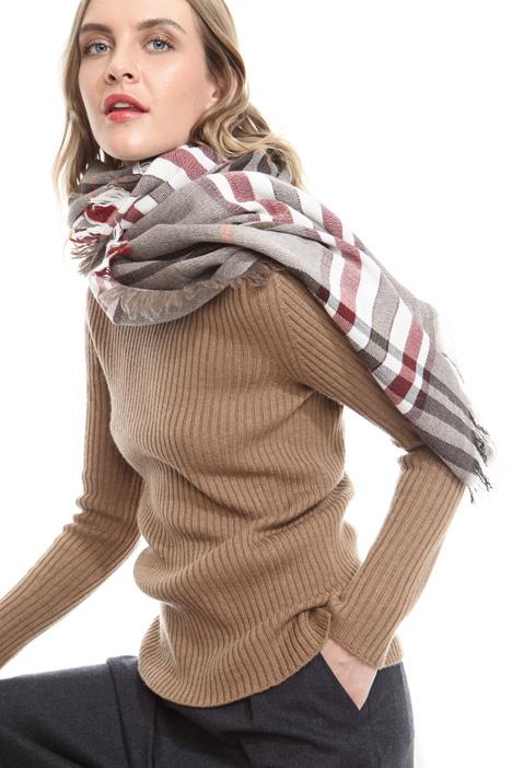 Checked scarf Diffusione Tessile