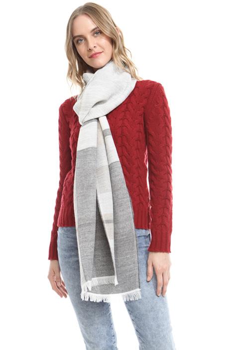 Sciarpa in modal e lana Diffusione Tessile