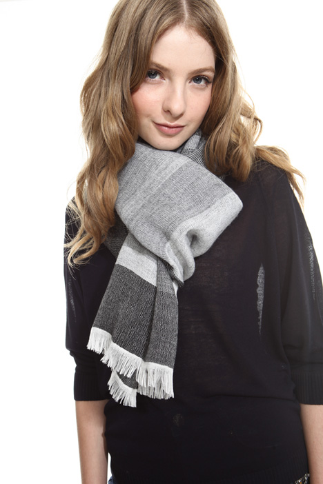 Wool and modal scarf Diffusione Tessile