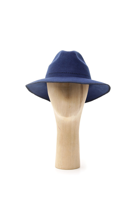 Felted wool fedora Intrend