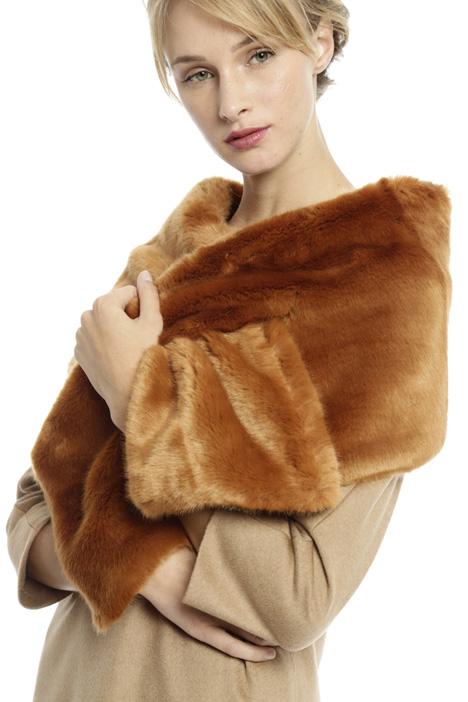 Faux-fur shawl Diffusione Tessile