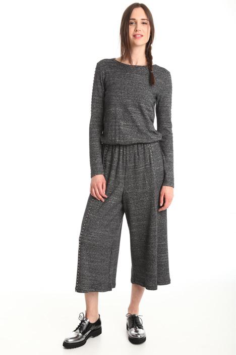 Tuta cropped in lana Diffusione Tessile