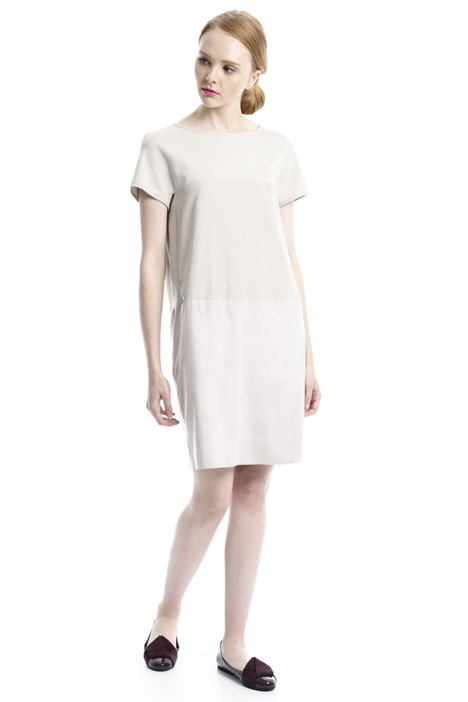Suede-effect dress Intrend