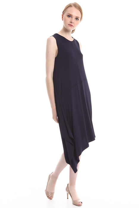 Jersey asymmetric dress Intrend