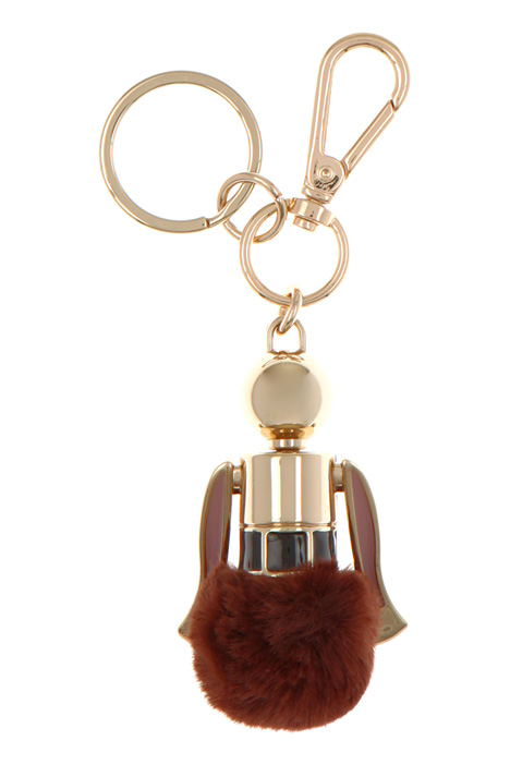 Keychain with charm Diffusione Tessile