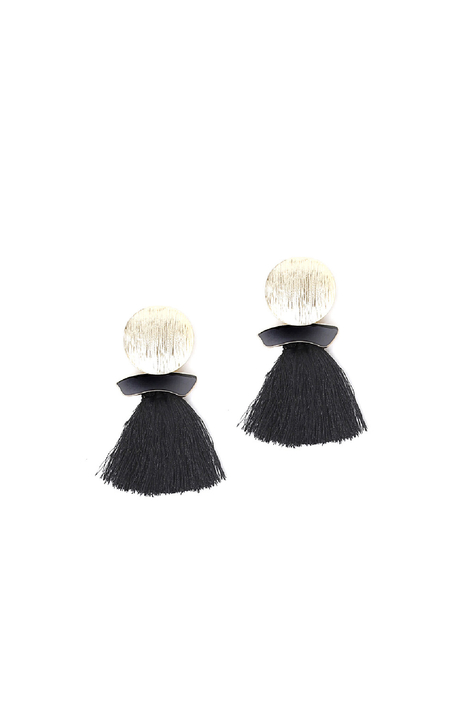 Tassel earrings Diffusione Tessile