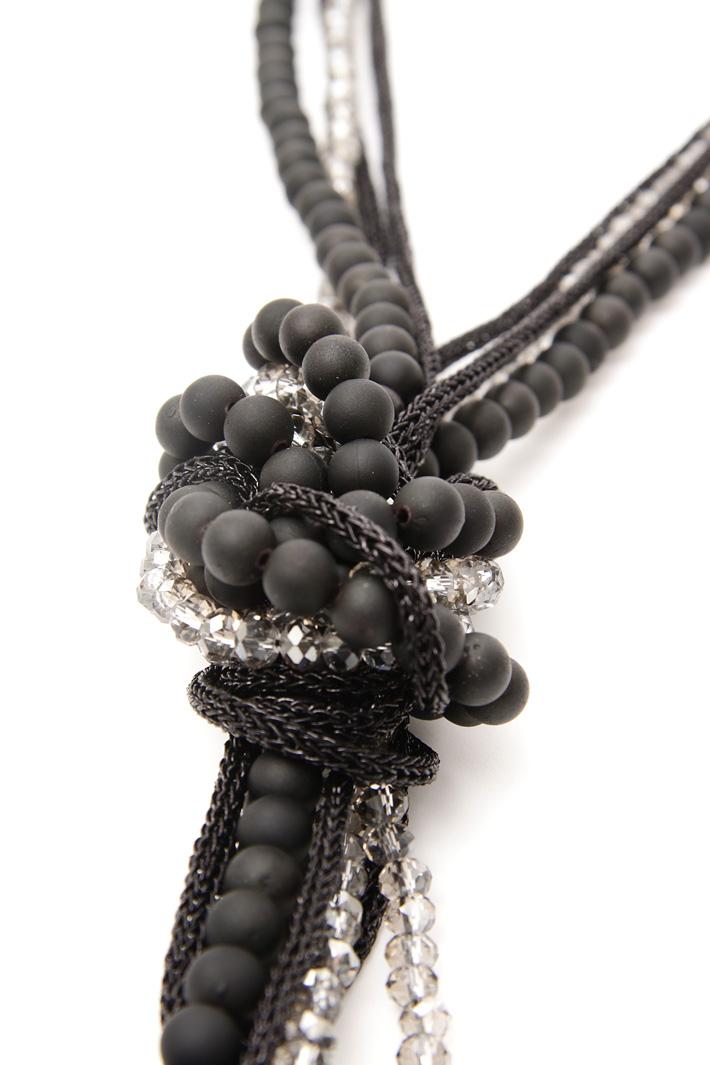 Collana con perline Diffusione Tessile
