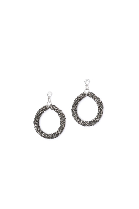 Micro-rhinestone earrings Diffusione Tessile