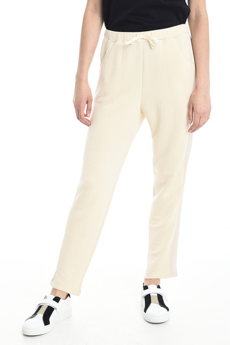 Jersey jogging-style trousers Diffusione Tessile