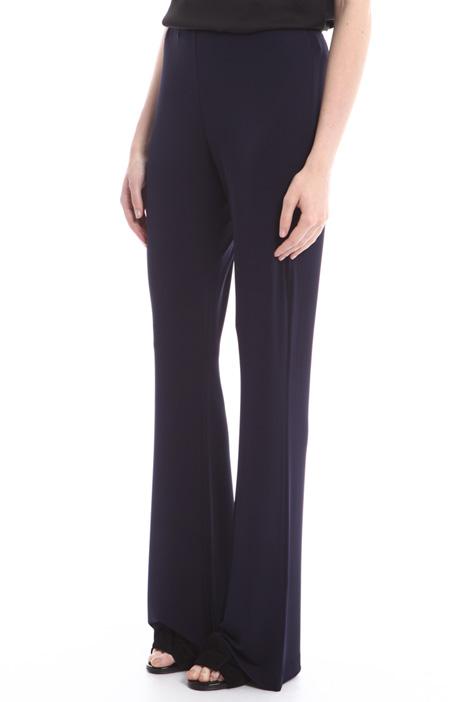 Pantaloni fluidi con zip Diffusione Tessile