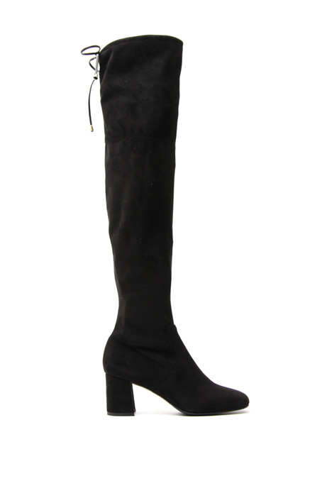 Faux-leather high boots Diffusione Tessile
